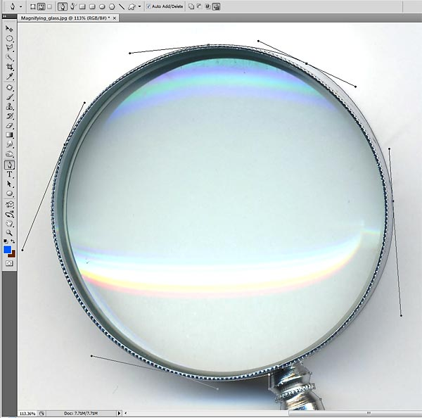how to draw glass photoshop