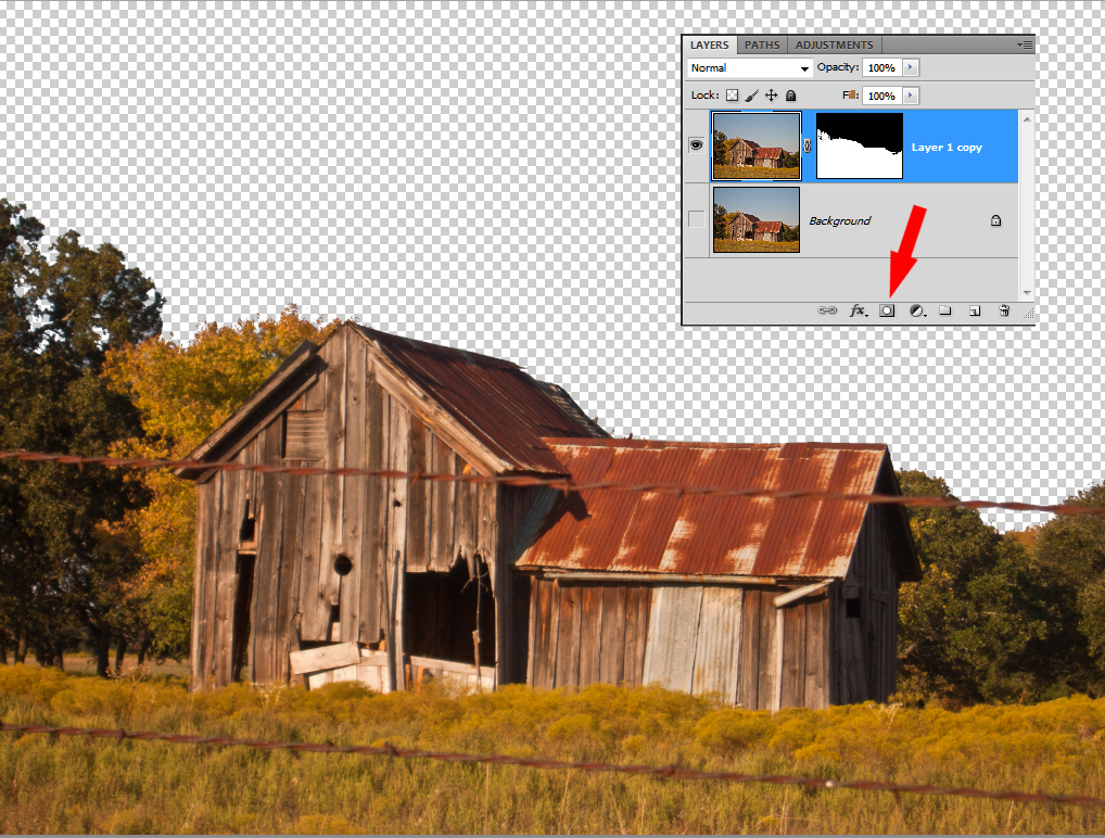 how to bring down guidelines in photoshop