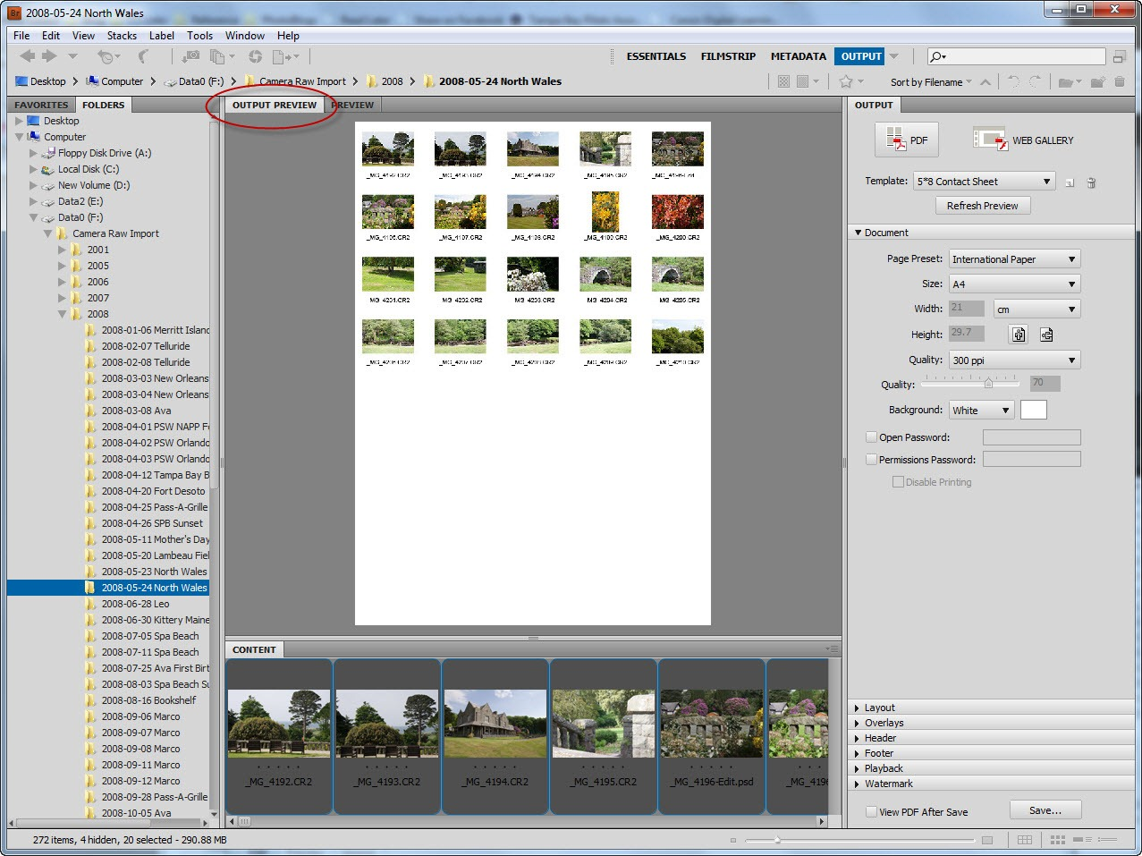 contact sheets in photoshop cs5 tipsquirrel