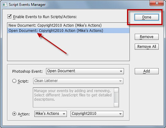 how to make a document copyright