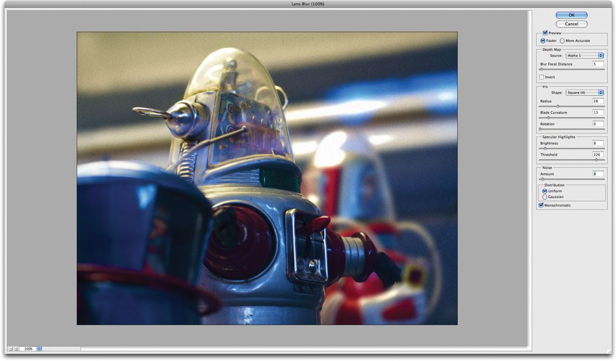 Adding Lens Blur in Photoshop - TipSquirrel
