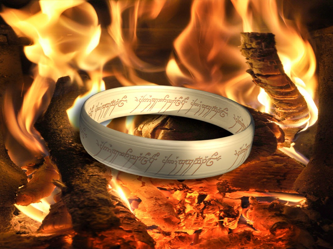 Creating the One Ring in 3D - TipSquirrel