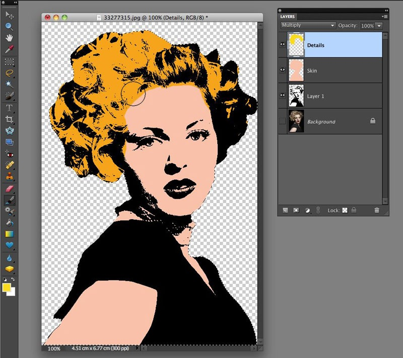 Warhol Style Pop Art Effect With Photoshop Elements Tipsquirrel