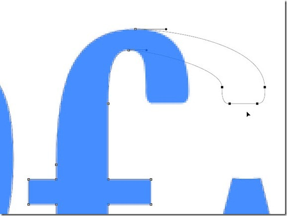 how to make hollow shape filled autocad