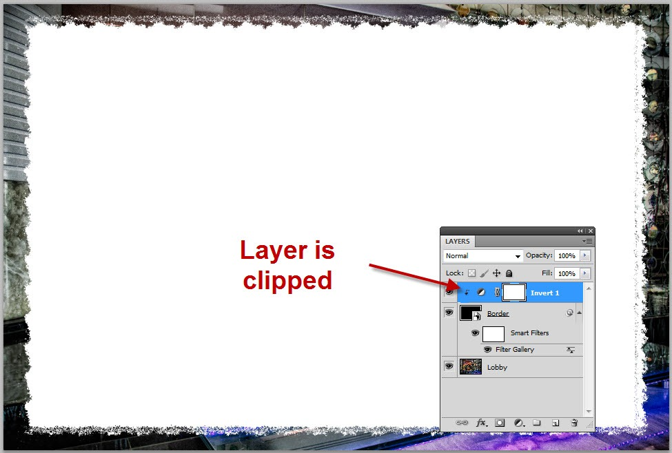 Easy Image Borders with Photoshop Smart Filters - TipSquirrel