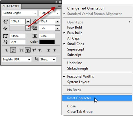 Solving Common Photoshop Problems–Type Troubles - TipSquirrel