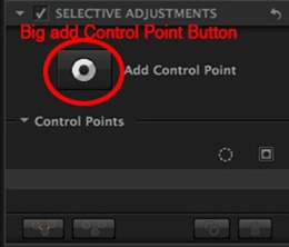 The big Control Point button