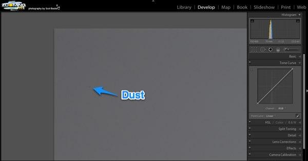 Large Dust Spot