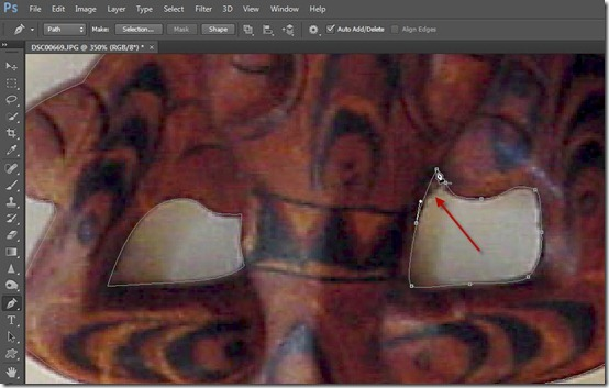 how to get marching ants in photoshop cs6