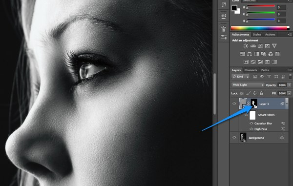 Keeping the details, Skin smoothing the smart way - TipSquirrel
