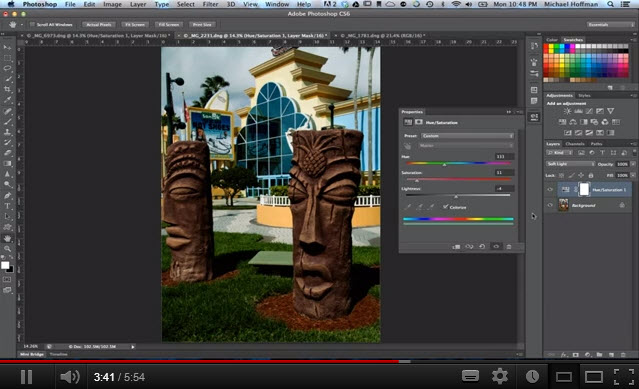 Adjustment Layer Blend Modes in Photoshop - Mike Hoffman