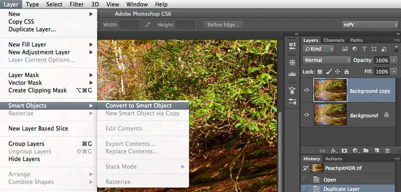 Smart Object Photoshop CS6