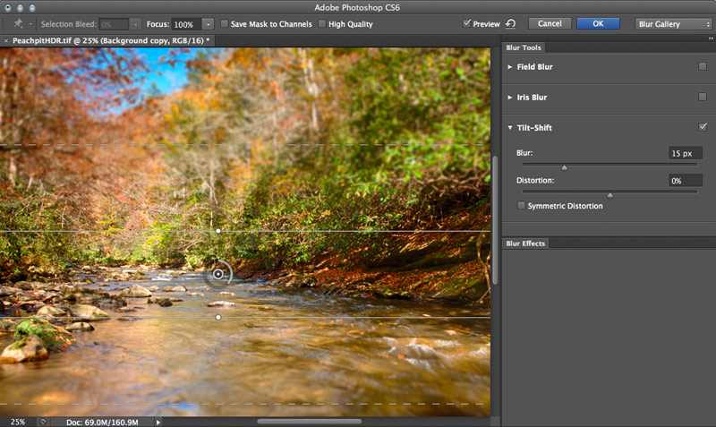 Blur Gallery - Tilt Shift Photoshop CS6