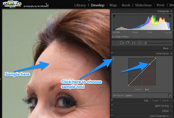 Skin Colour Correction LR5 by Scot Baston