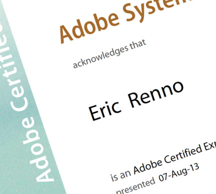 Taking the Photoshop Adobe Certified Expert Exam - Eric Renno