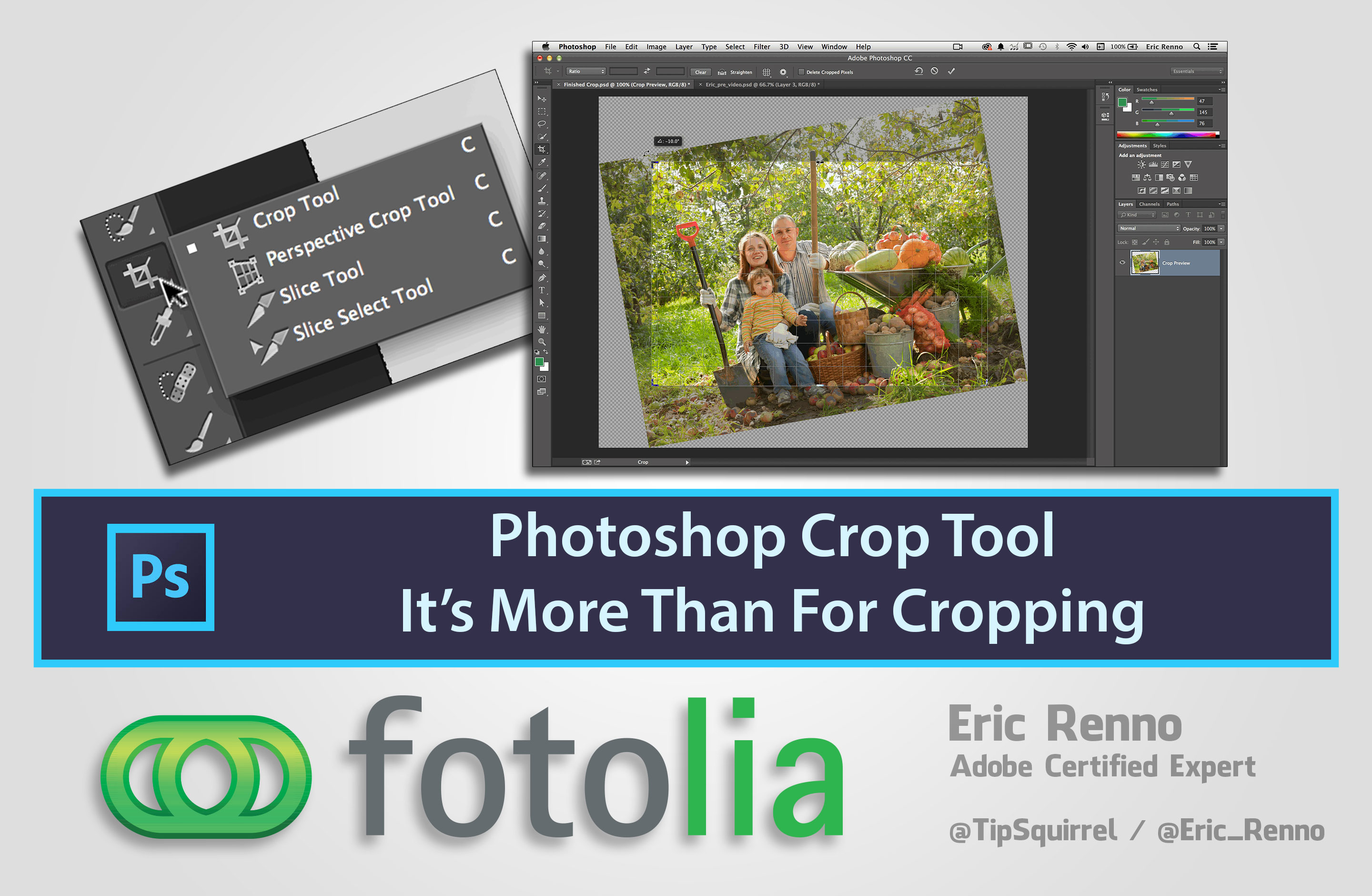 Photoshop Crop Tool - Its Not Just For Cropping - Eric Renno