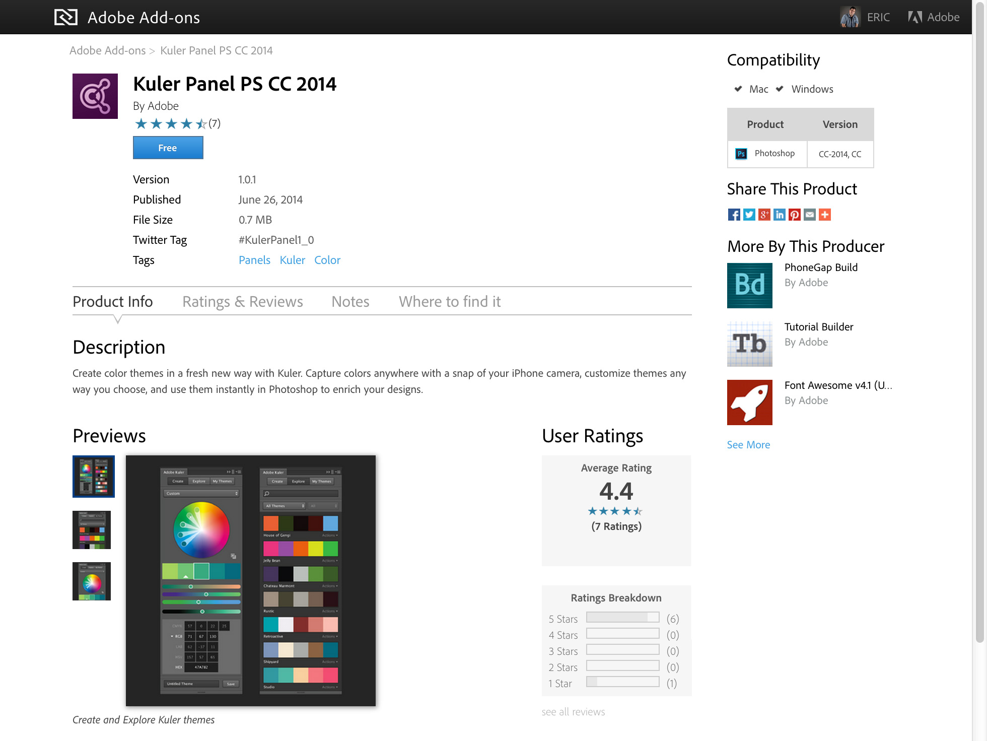 Installing Photoshop Kuler Panel and Why You Need It - TipSquirrel