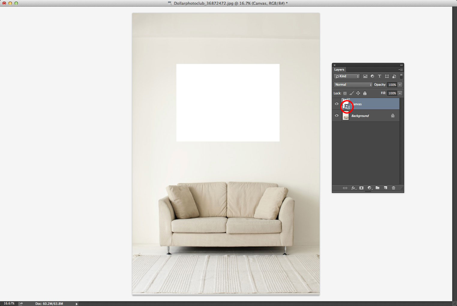 Creating a Smart Object