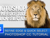 Photoshop Refine Edge Masking Tutorial by Roberto Blake