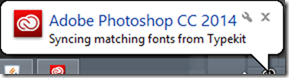 Photoshop CC 2014 Typekit Integration