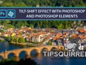 tilt-shift in Photoshop and Photoshop elements