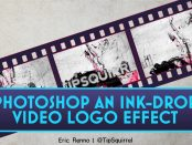 Photoshop an Ink Drop Logo Effect