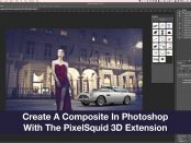 Composite In Photoshop With The PixelSquid 3D Extension