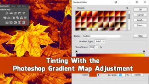 Tinting With the Gradient Map Adjustment