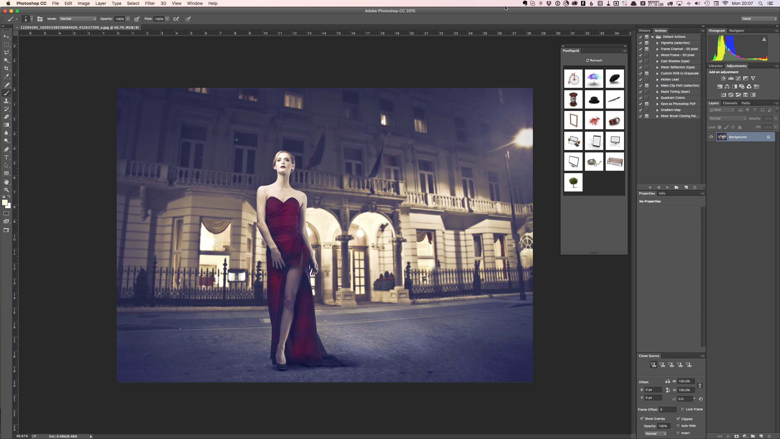How to create a composite in photoshop with the pixelsquid 3d the starting image for the tutorial baditri Images