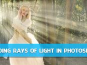 Adding Rays of Light in Photoshop