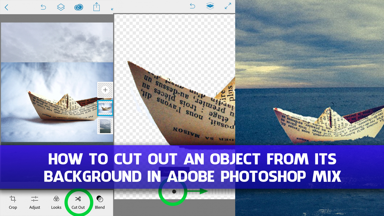 How to Cut Out an Object From Its Background in Adobe Photoshop Mix