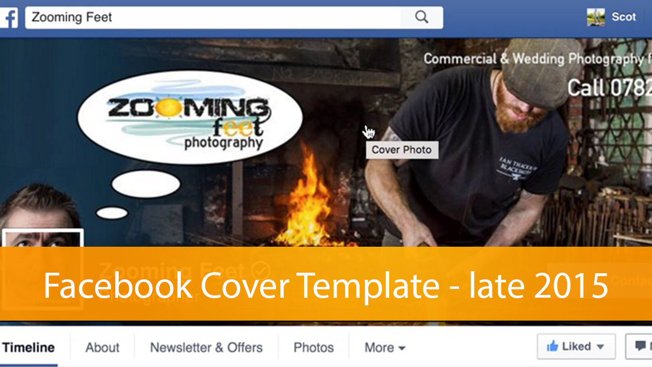 facebook cover template late 2015 in photoshop cc