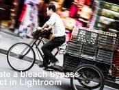 Bleach bypass tutorial by James Abbott