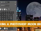 Making a Photoshop Moon Brush