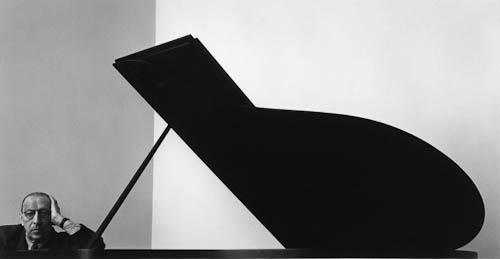Igor Stravinsky crop by Arnold Newman