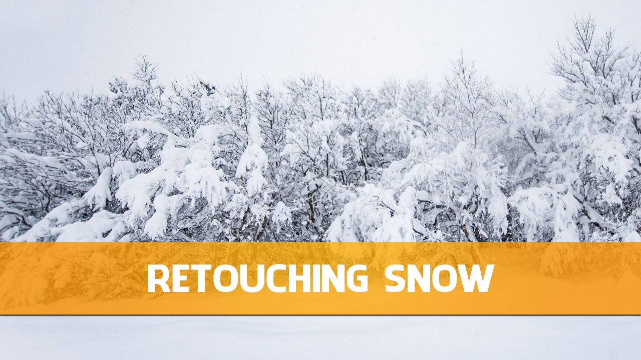Retouching Snow in Photoshop