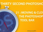 30Sec Photoshop Tool Bar