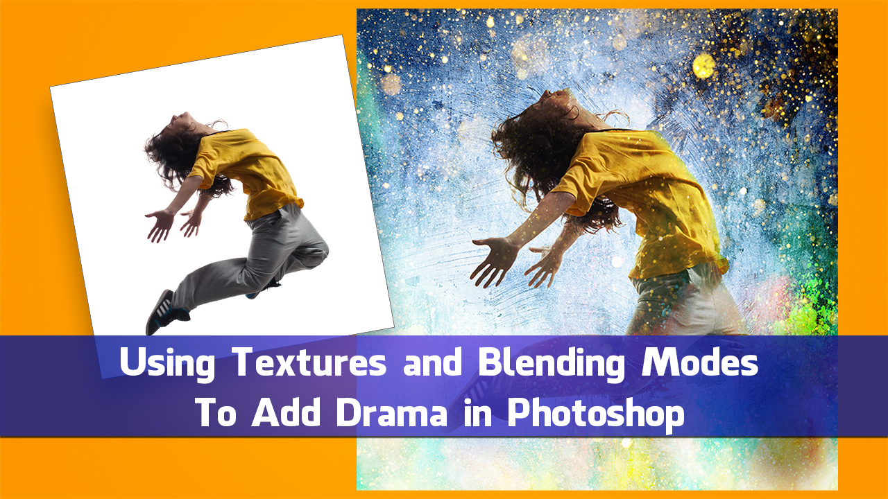 Using Textures and Blending Modes To Add Drama in Photoshop