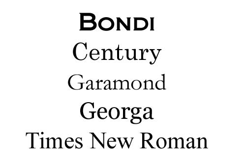 Serif-examp