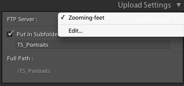 Edit Settings