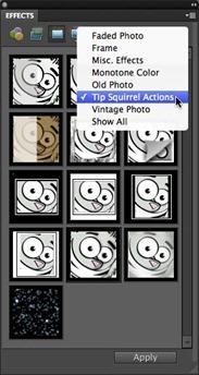 TSQ Effects panel
