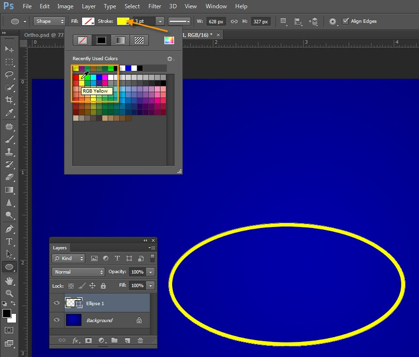 Creating Dashed And Dotted Lines In Photoshop Tipsquirrel