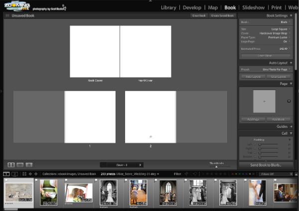 Adobe Lightroom 4 Book Module