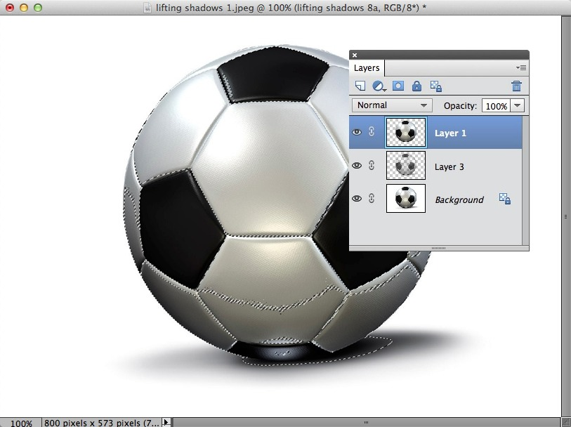 An image showing the layer without its layer mask