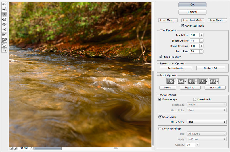 Liquify Smart Filter - Photoshop CS6