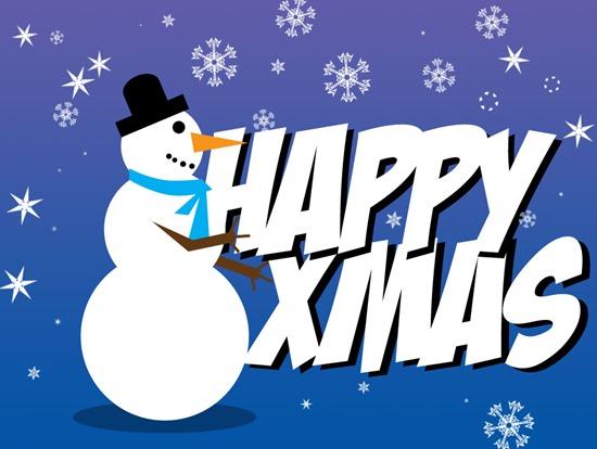 Make a Photoshop Snowman and Grab a Free Snowflake Brush Set