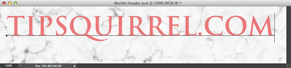 Image showing Text entered with the Type Mask tool in Photoshop