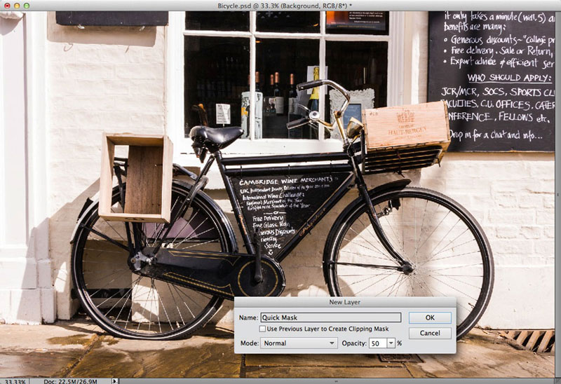 Creating a colour fill layer in Photoshop Elements 11