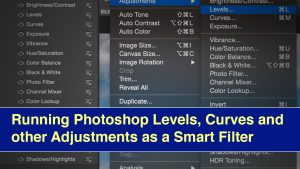 Photoshop Levels as Smart Object