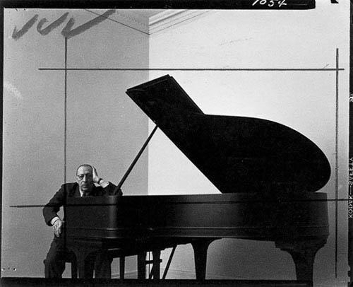 Igor Stravinsky by Arnold Newman